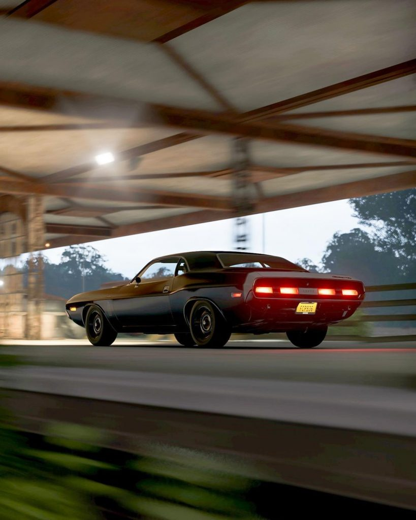 Black Ghost 1970 Challenger Forza