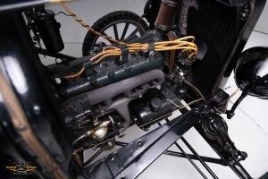 1926 Ford Model T Snowmobile engine