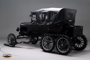 1926 Ford Model T Snowmobile rear three-quarter