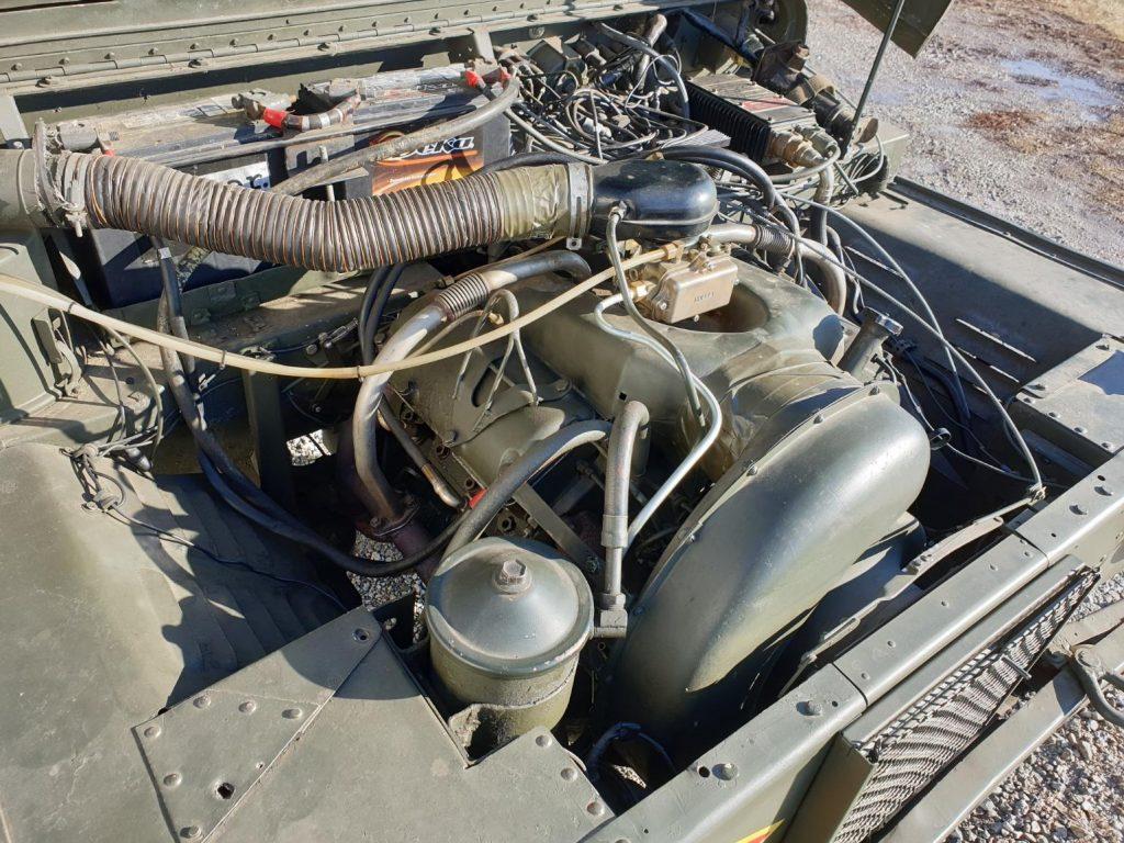 AMC M442A1 Mighty Mite engine angle