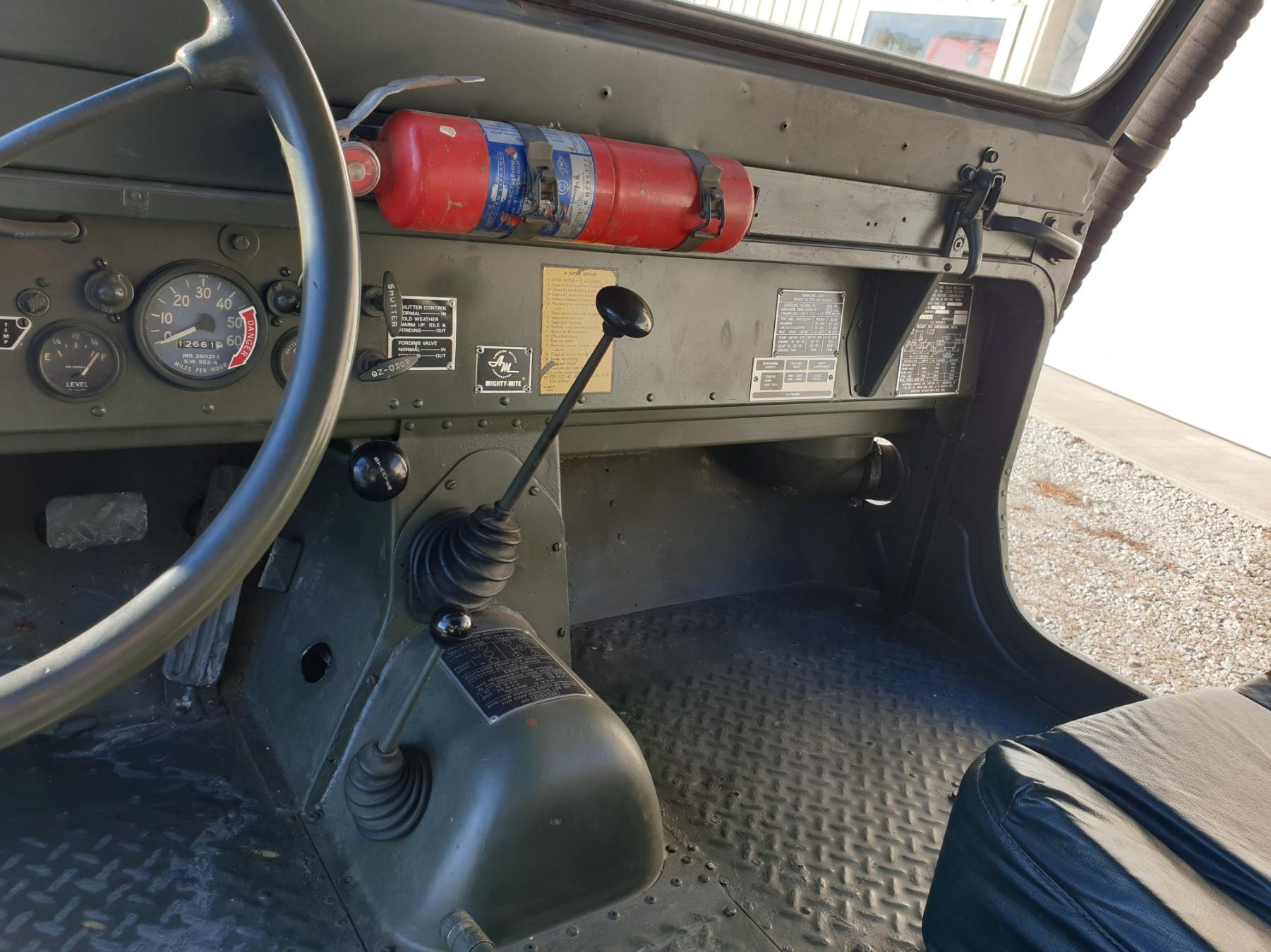 AMC M442A1 Mighty Mite interior front