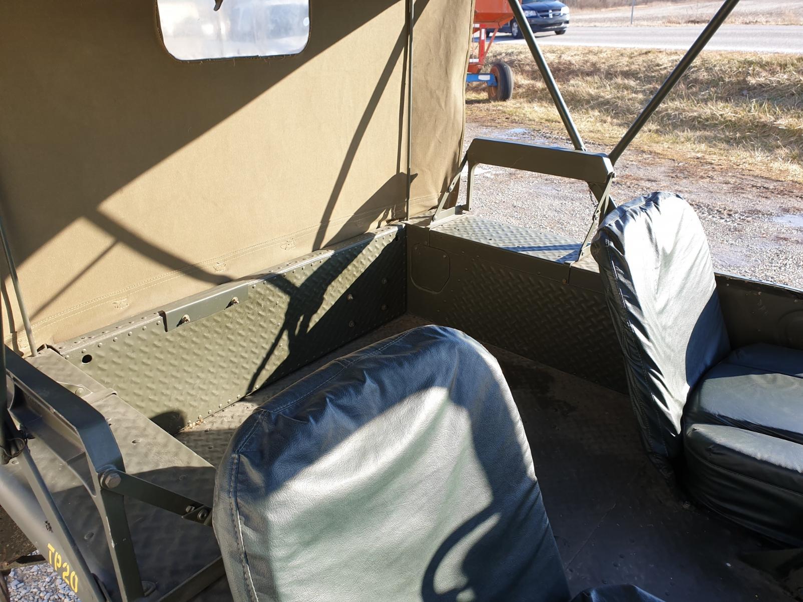 AMC M442A1 Mighty Mite rear box