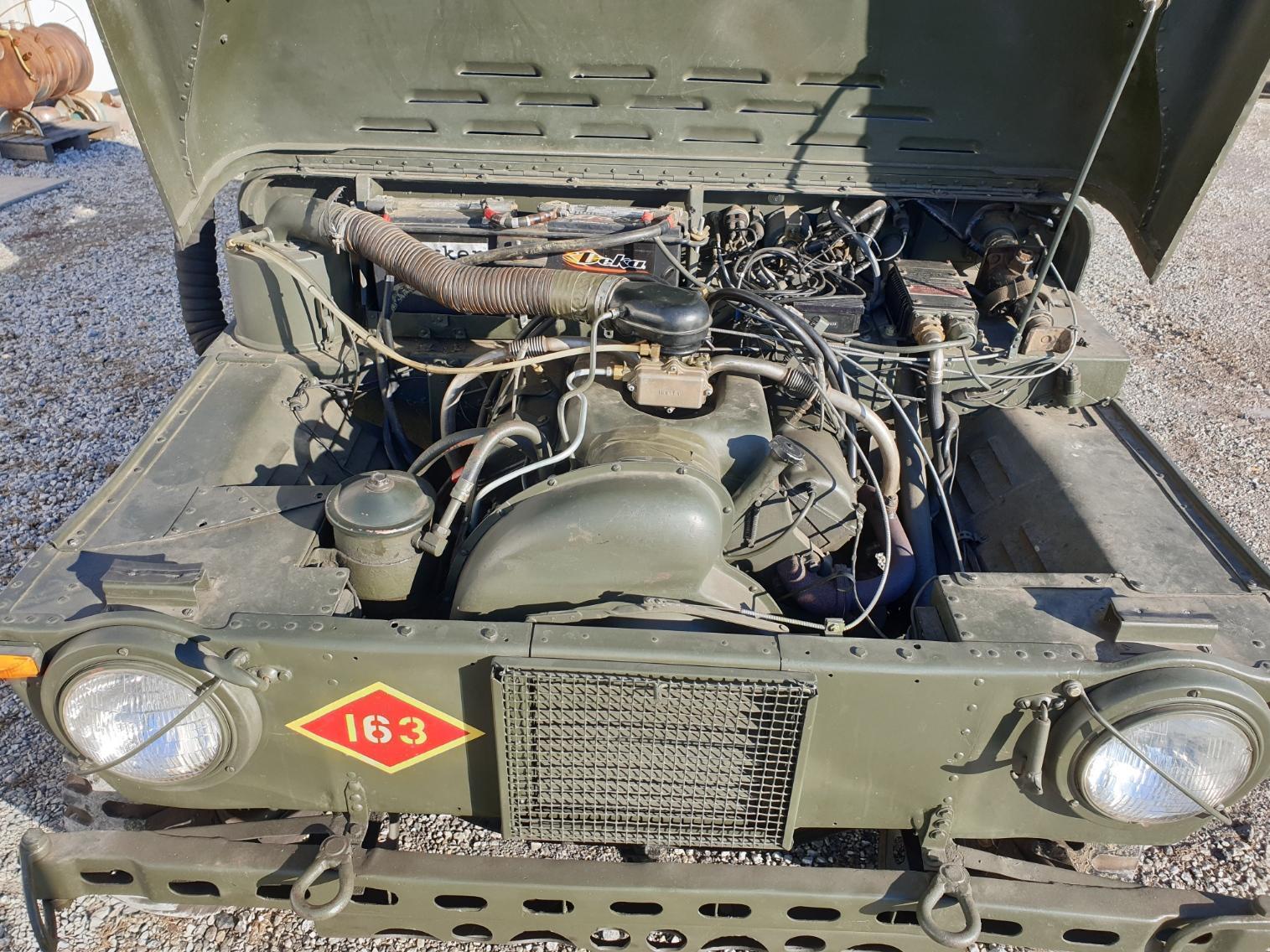 AMC M442A1 Mighty Mite engine bay