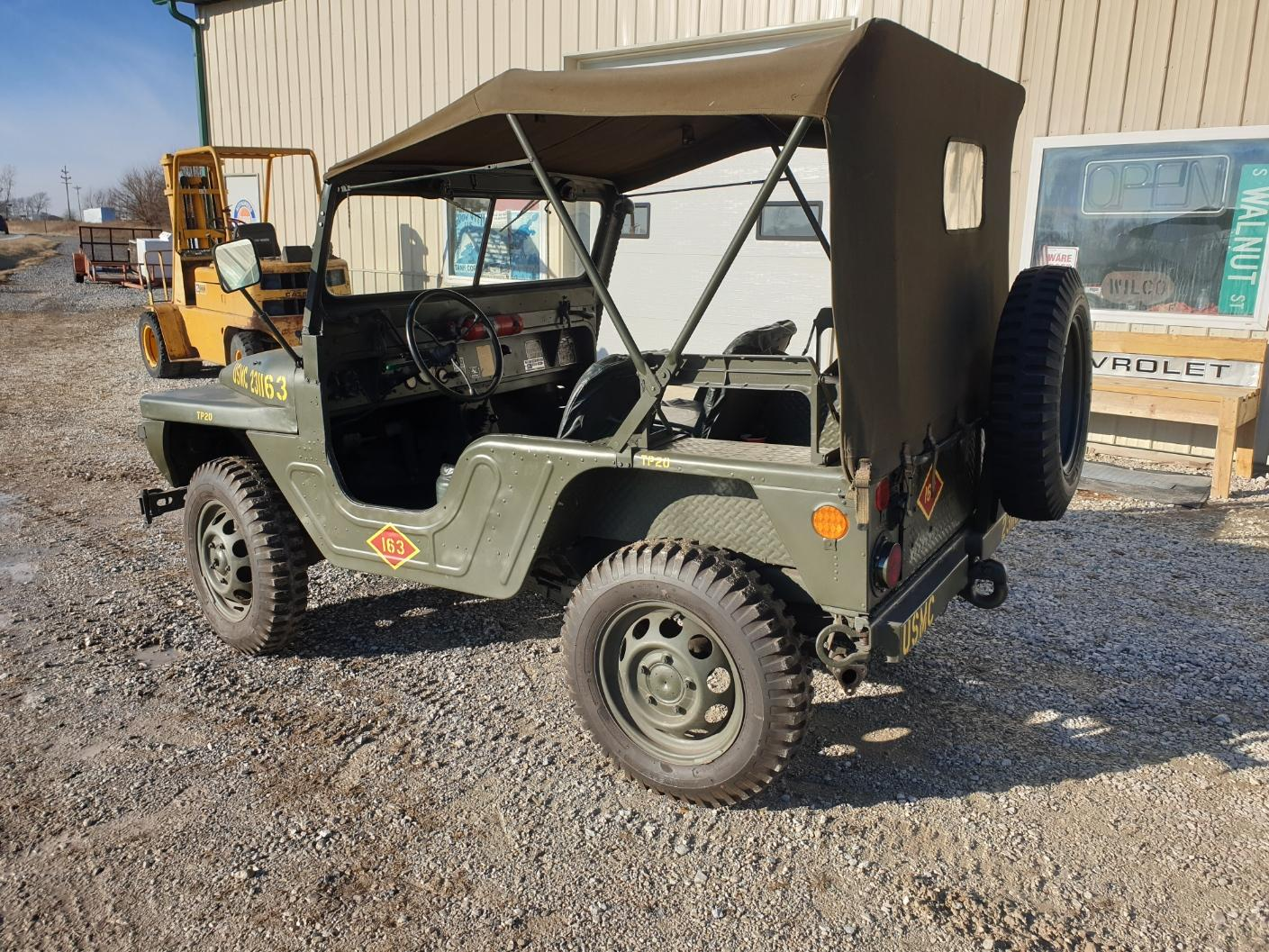AMC M442A1 Mighty Mite rear three-quarter