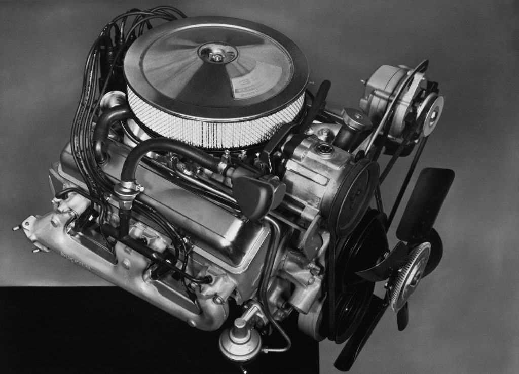 1967 Chevrolet Camaro Z28 302 V8 Engine