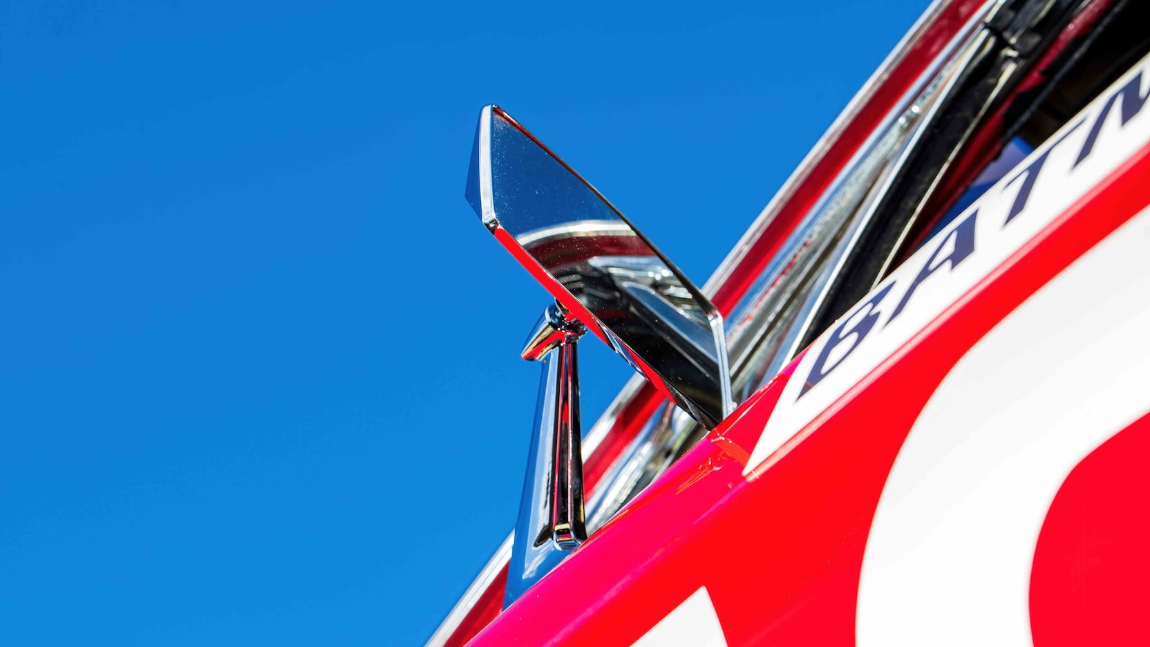 1967 Ford Mustang Holman-Moody Racer side view mirror