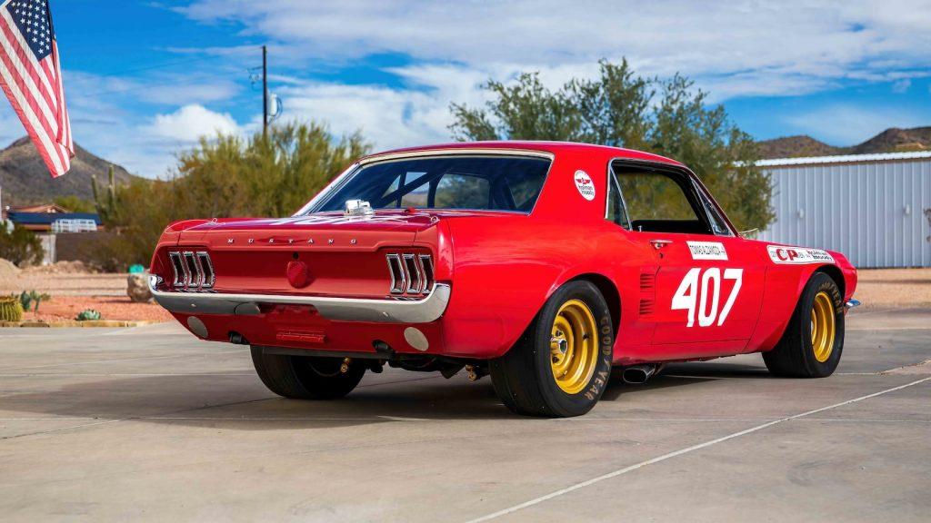 1967 Ford Mustang Holman-Moody Racer rear three-quarter