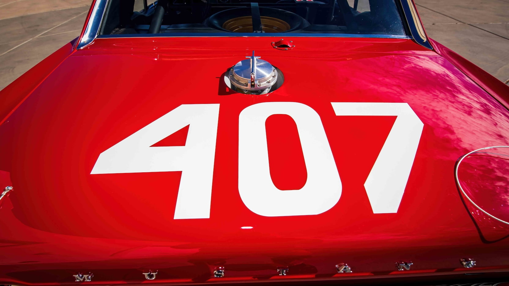 1967 Ford Mustang Holman-Moody rear 407