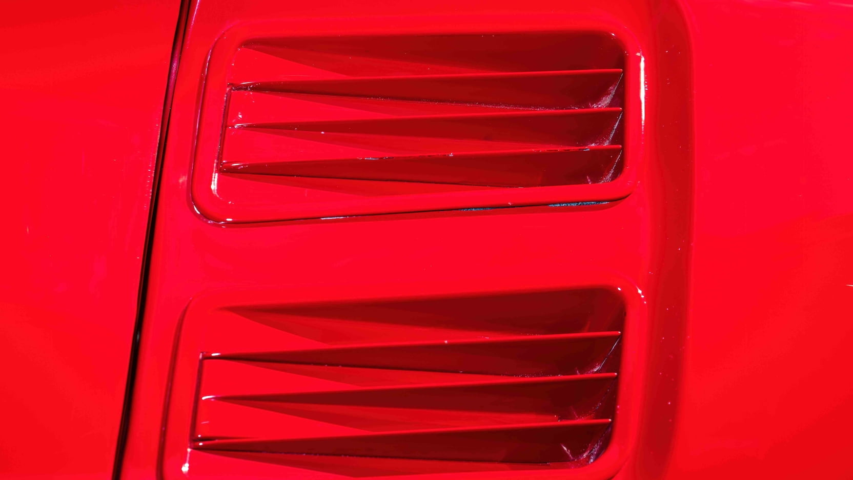 1967 Ford Mustang Holman-Moody Racer vents