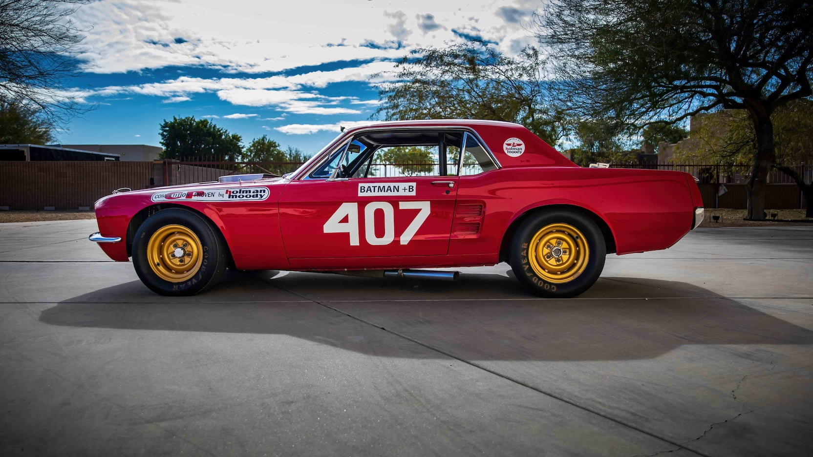 1967 Ford Mustang Holman-Moody Racer side