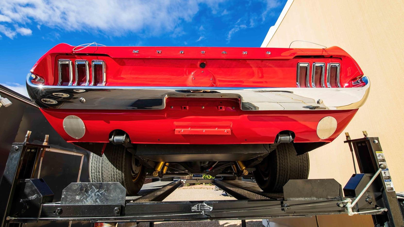 1967 Ford Mustang Holman-Moody Racer rear