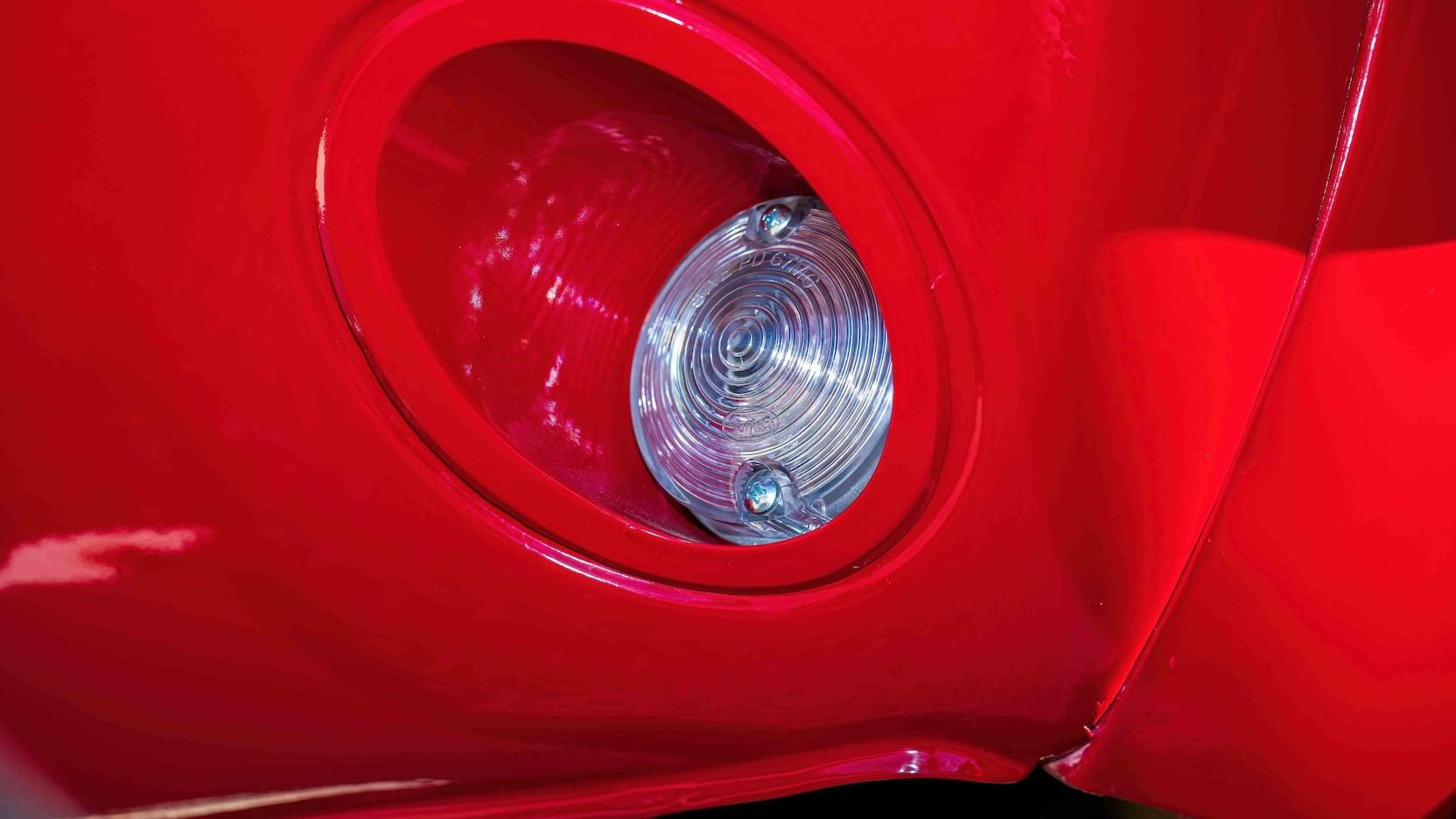 1967 Ford Mustang Holman-Moody Racer light detail