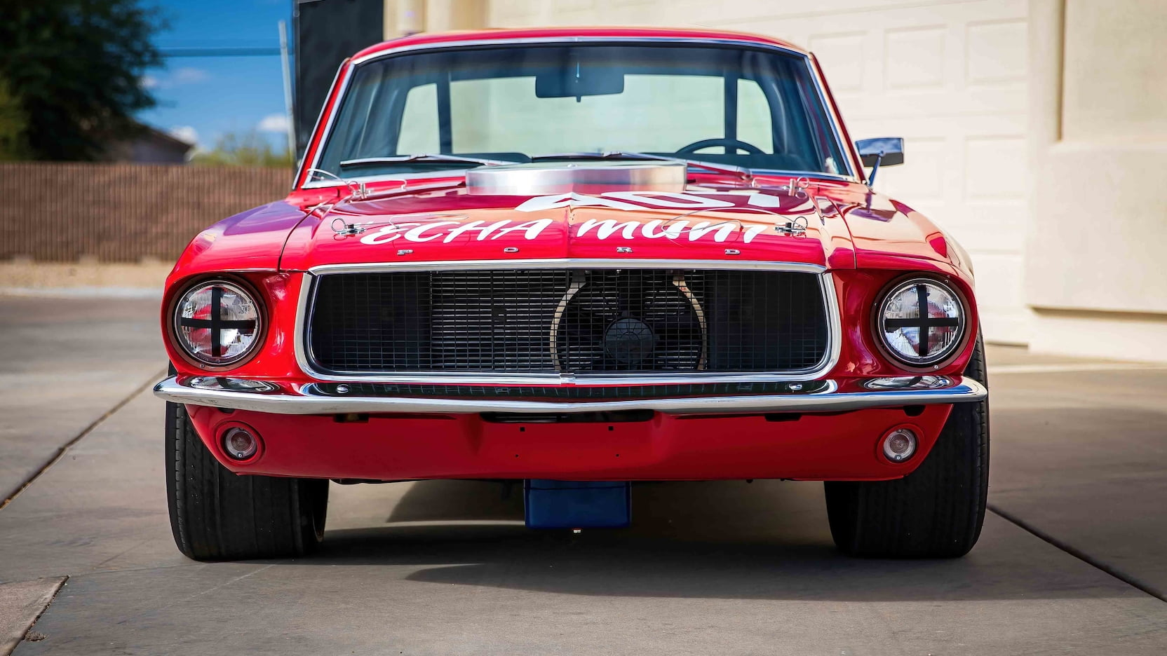 1967 Ford Mustang Holman-Moody Racer front