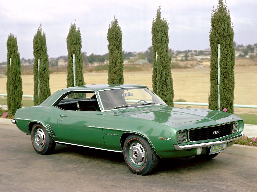 1969 Camaro RS Rally Green
