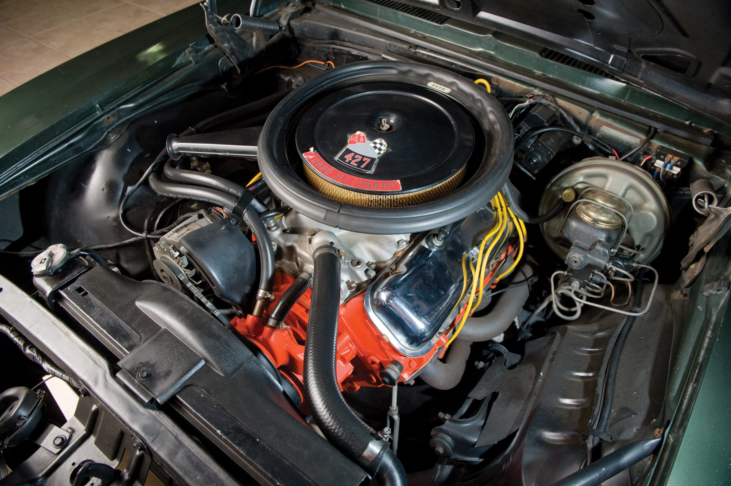 1969 Chevrolet Camaro Yenko SC 427 engine