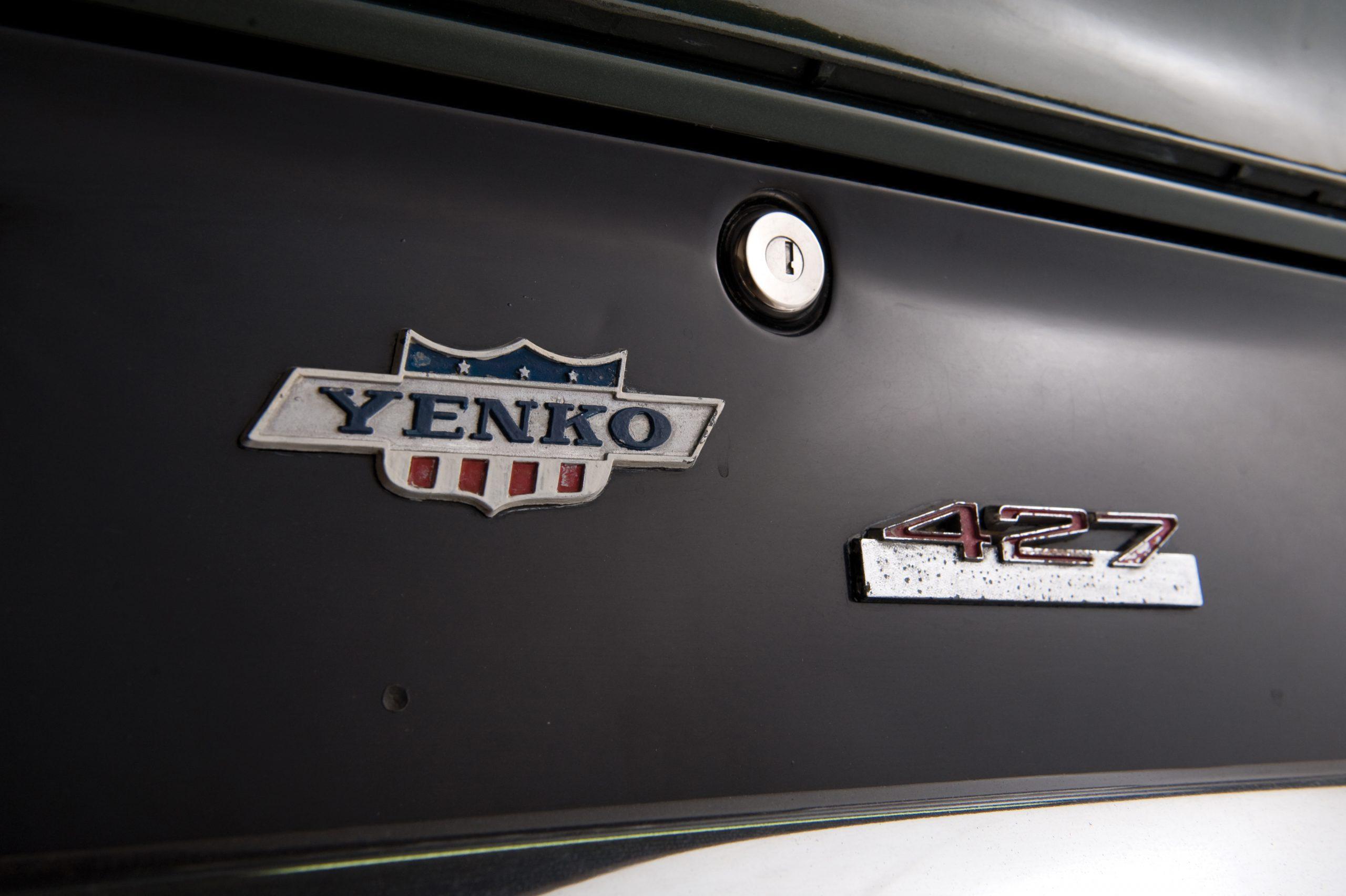 1969 Chevrolet Camaro Yenko SC badges