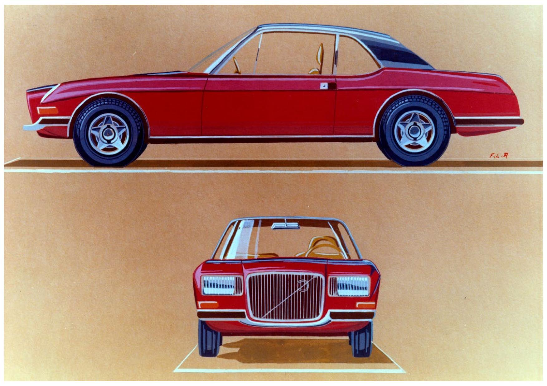1970 Volvo GTZ 3000 Zagato