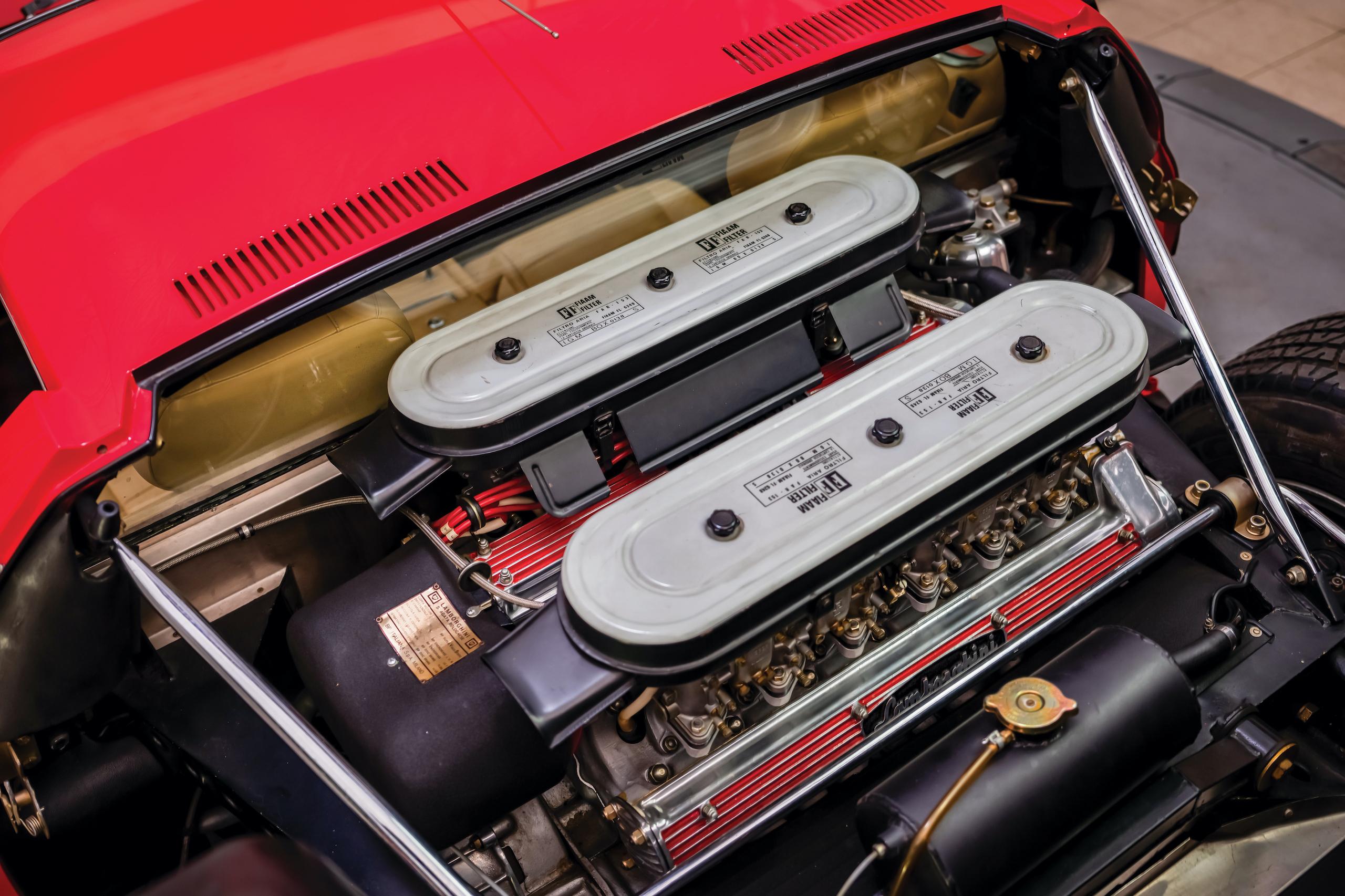 1971 Lamborghini Miura P400 SV engine