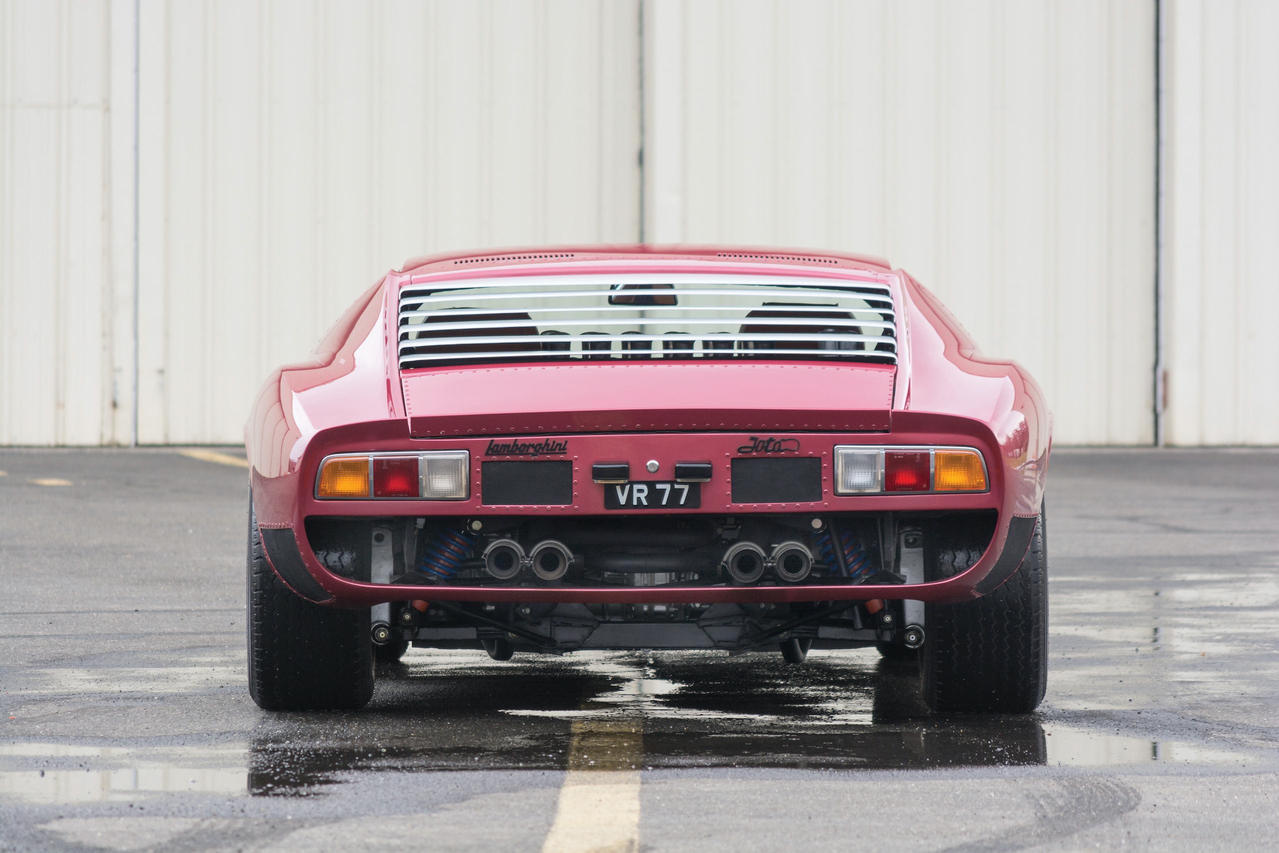 1971 Lamborghini Miura SVJ by Bertone rear