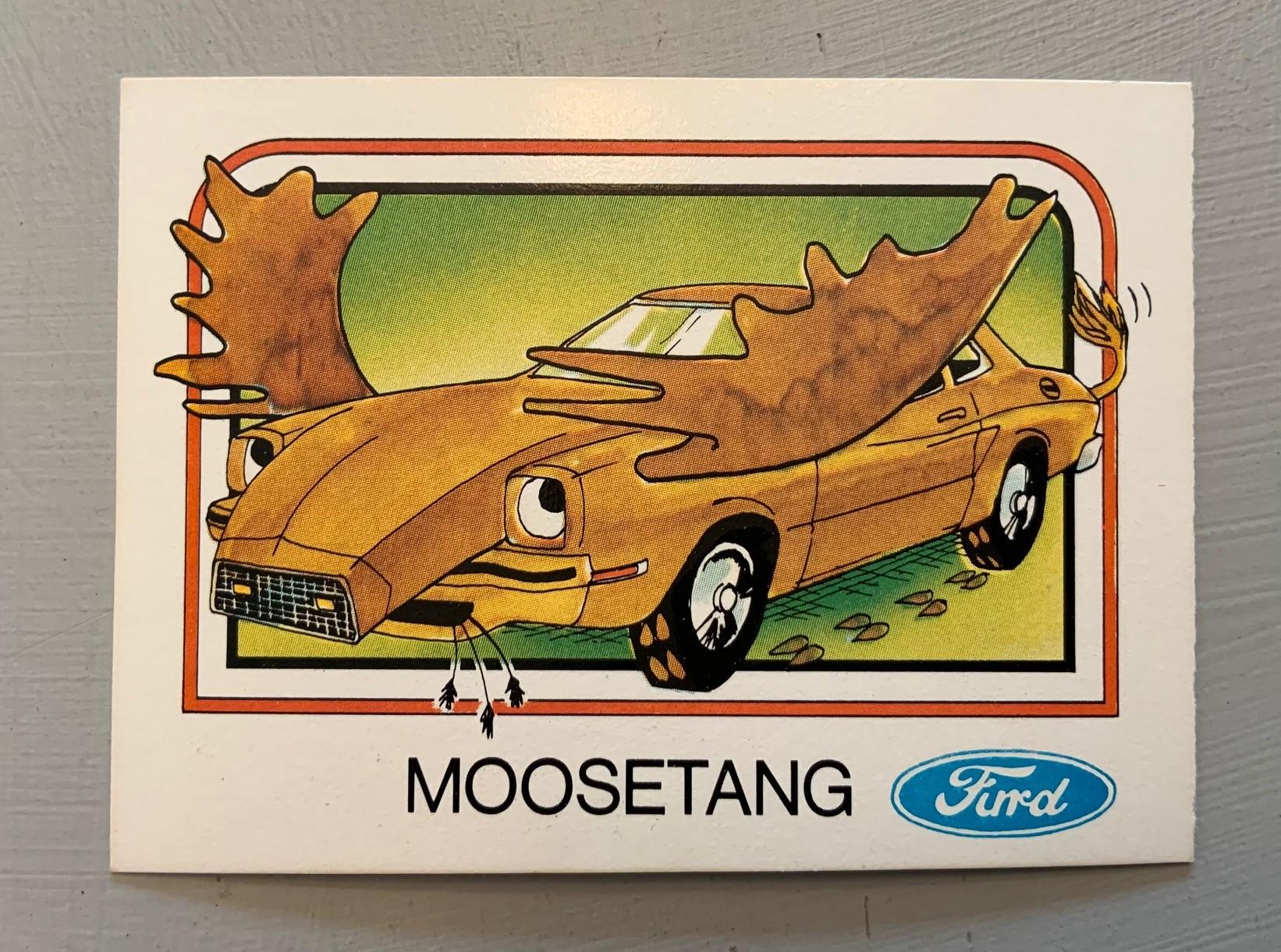 1976 Wonder Bread Krazy Cars - Moosetang
