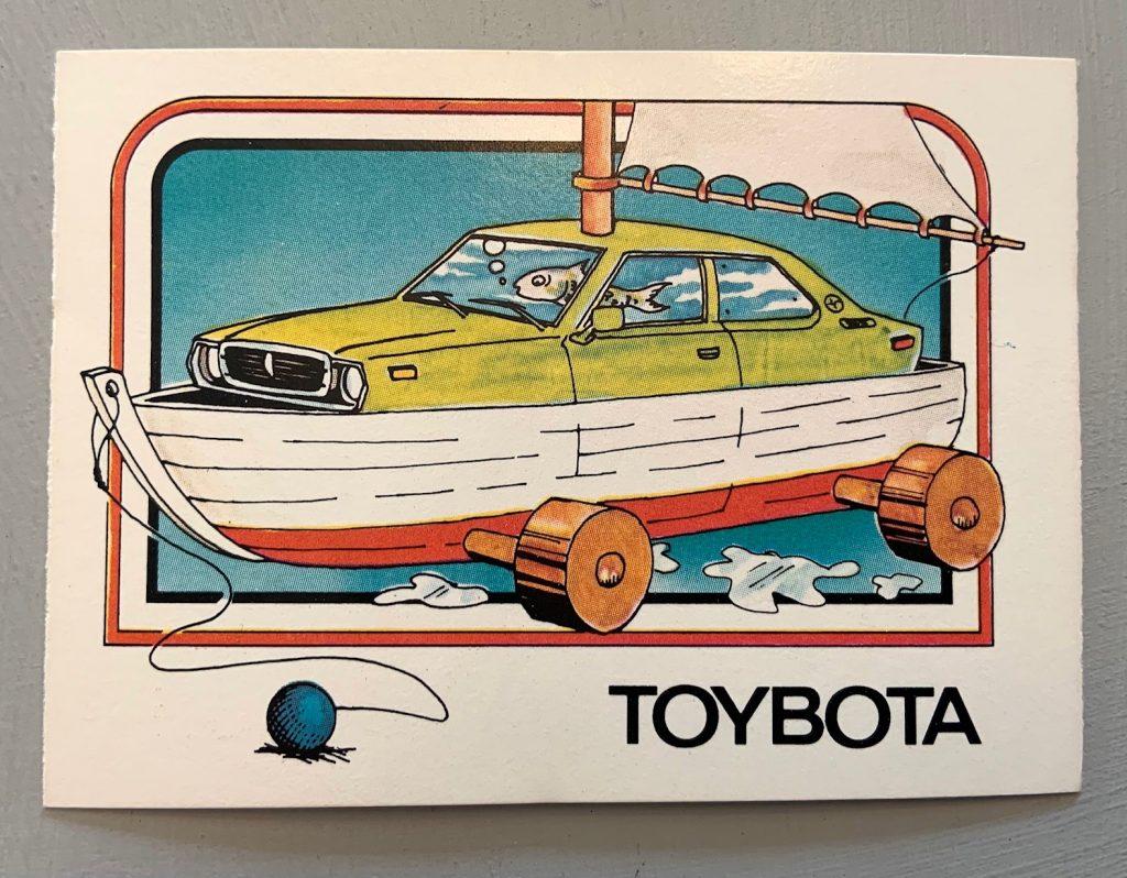 1976 Wonder Bread Krazy Cars - Toybota