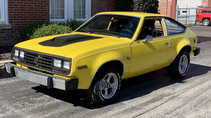 1983 AMC Spirit hatchback Mecum