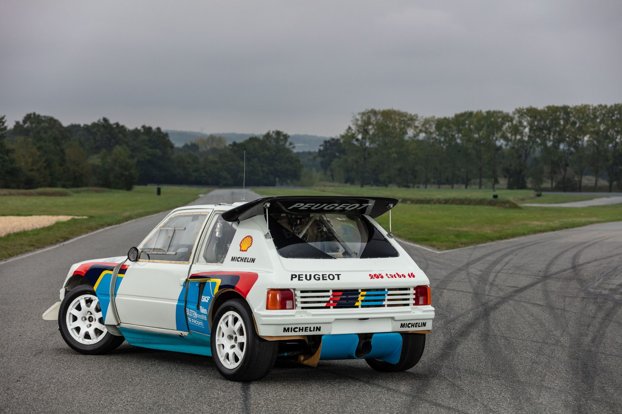 1985 Peugeot 205 Turbo 16 Evolution 2 rear three-quarter