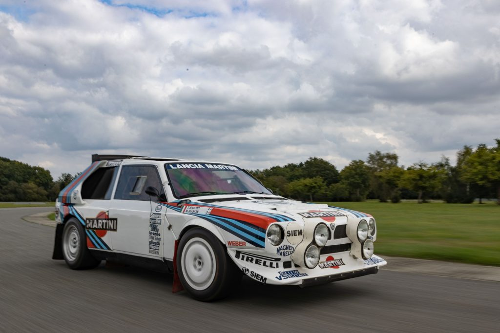 1986 Lancia Delta S4 front three-quarter action