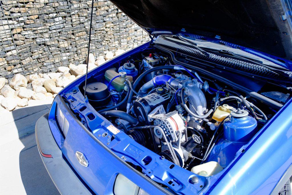 1987 Merkur XR4Ti engine