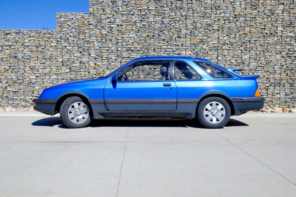 1987 Merkur XR4Ti side profile
