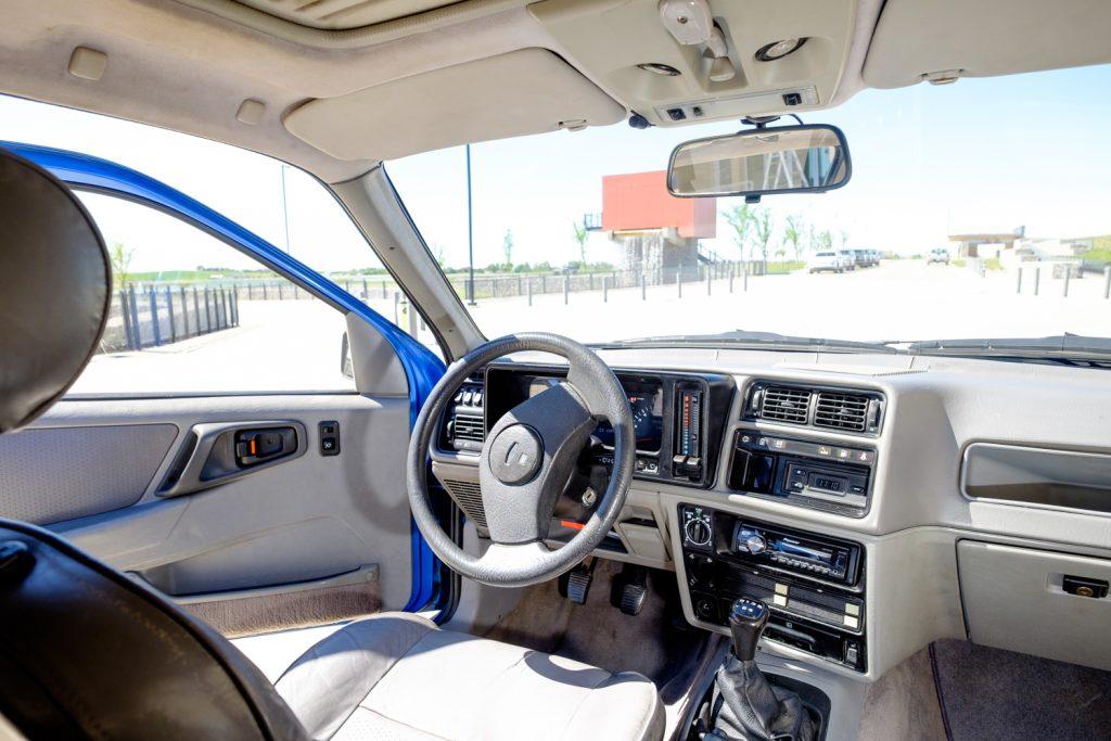 1987 Merkur XR4Ti interior