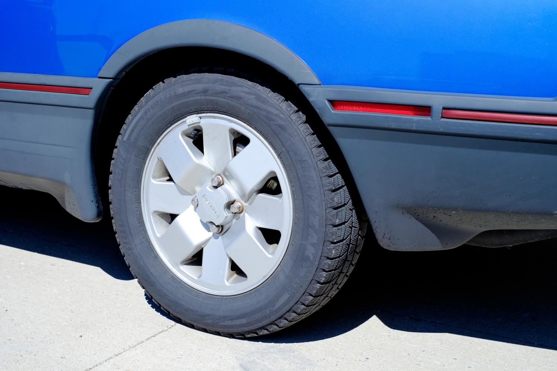 1987 Merkur XR4Ti wheel detail