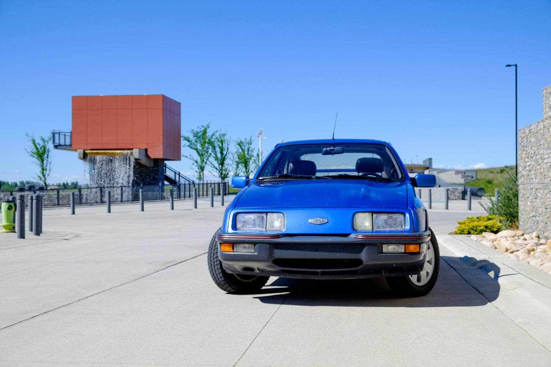1987 Merkur XR4Ti front