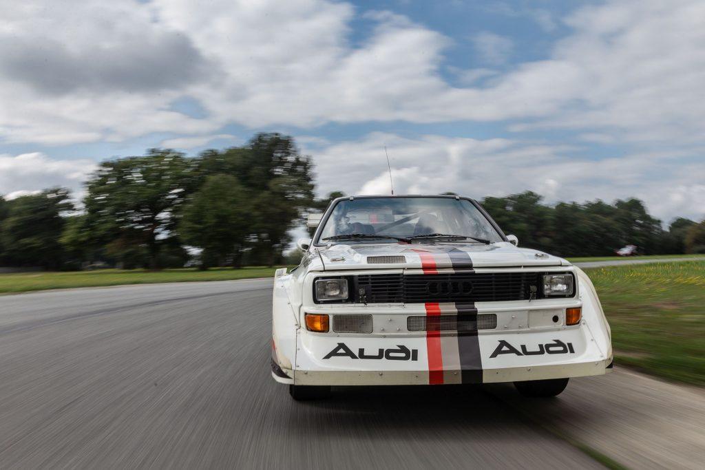 1988 Audi Sport Quattro S1 front action