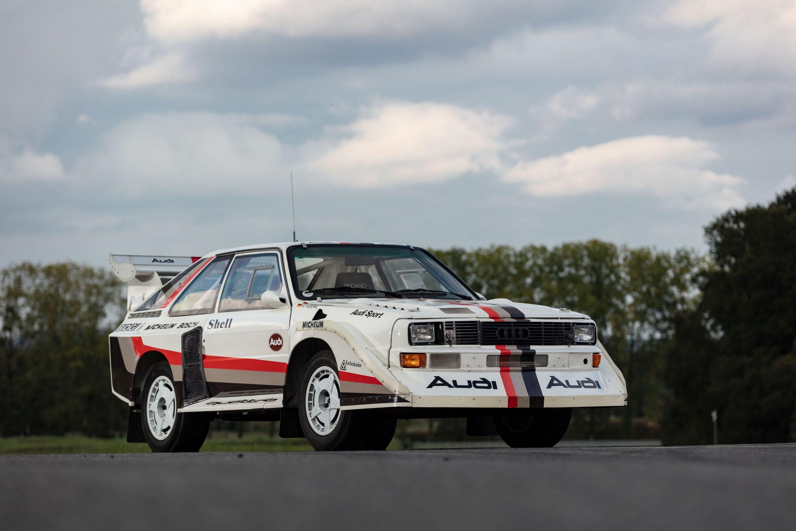 1988 Audi Sport Quattro S1 front three-quarter