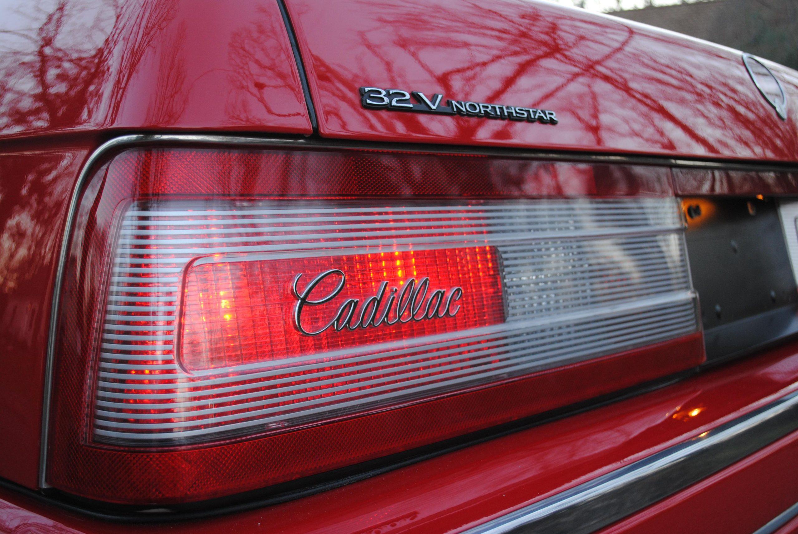 1993 Cadillac Allante taillight