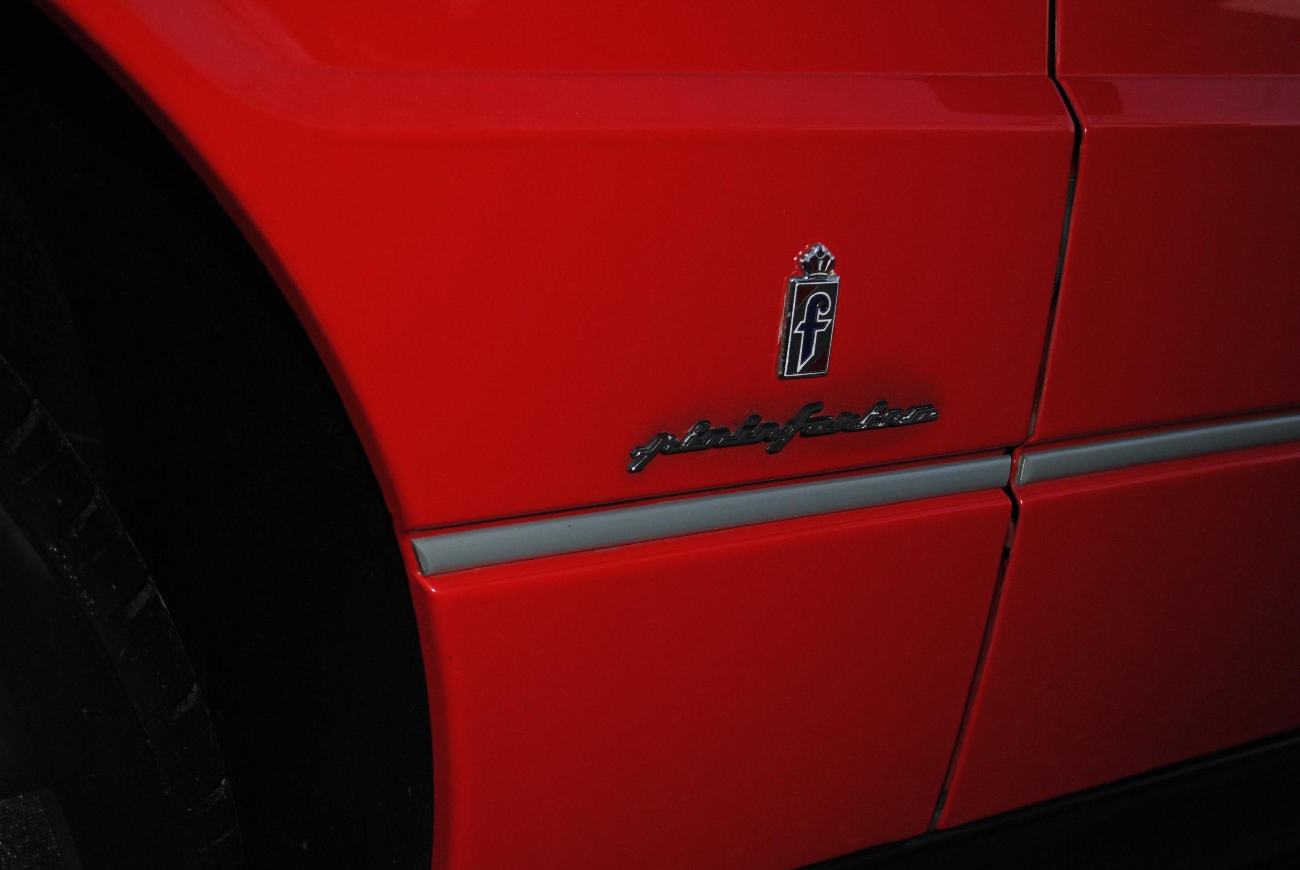 1993 Cadillac Allante pininfarina badge