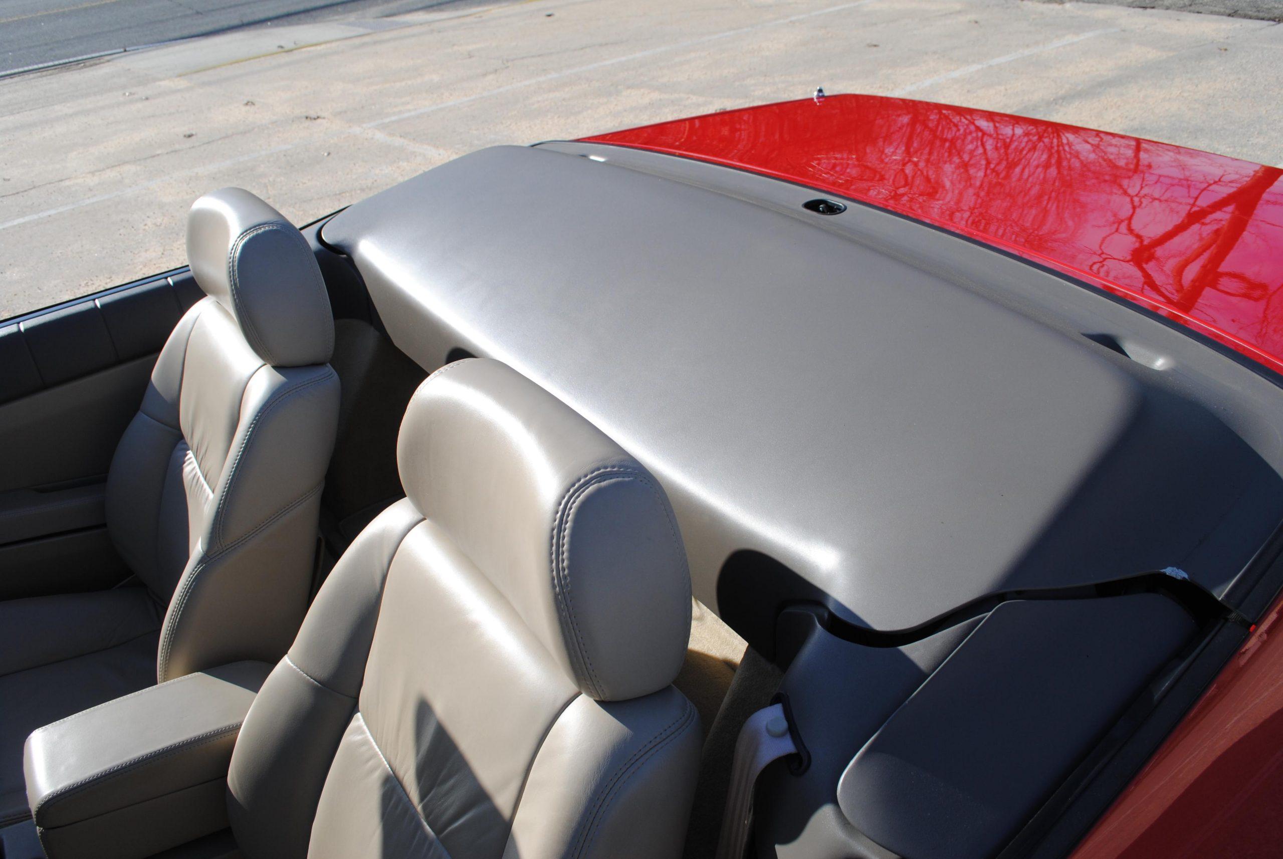 1993 Cadillac Allante rear top cover