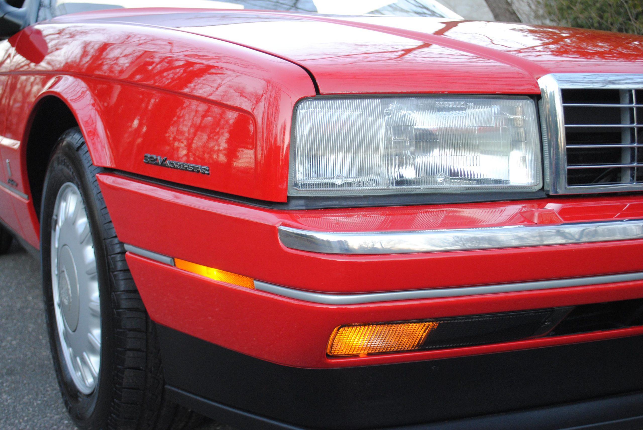 1993 Cadillac Allante headlight