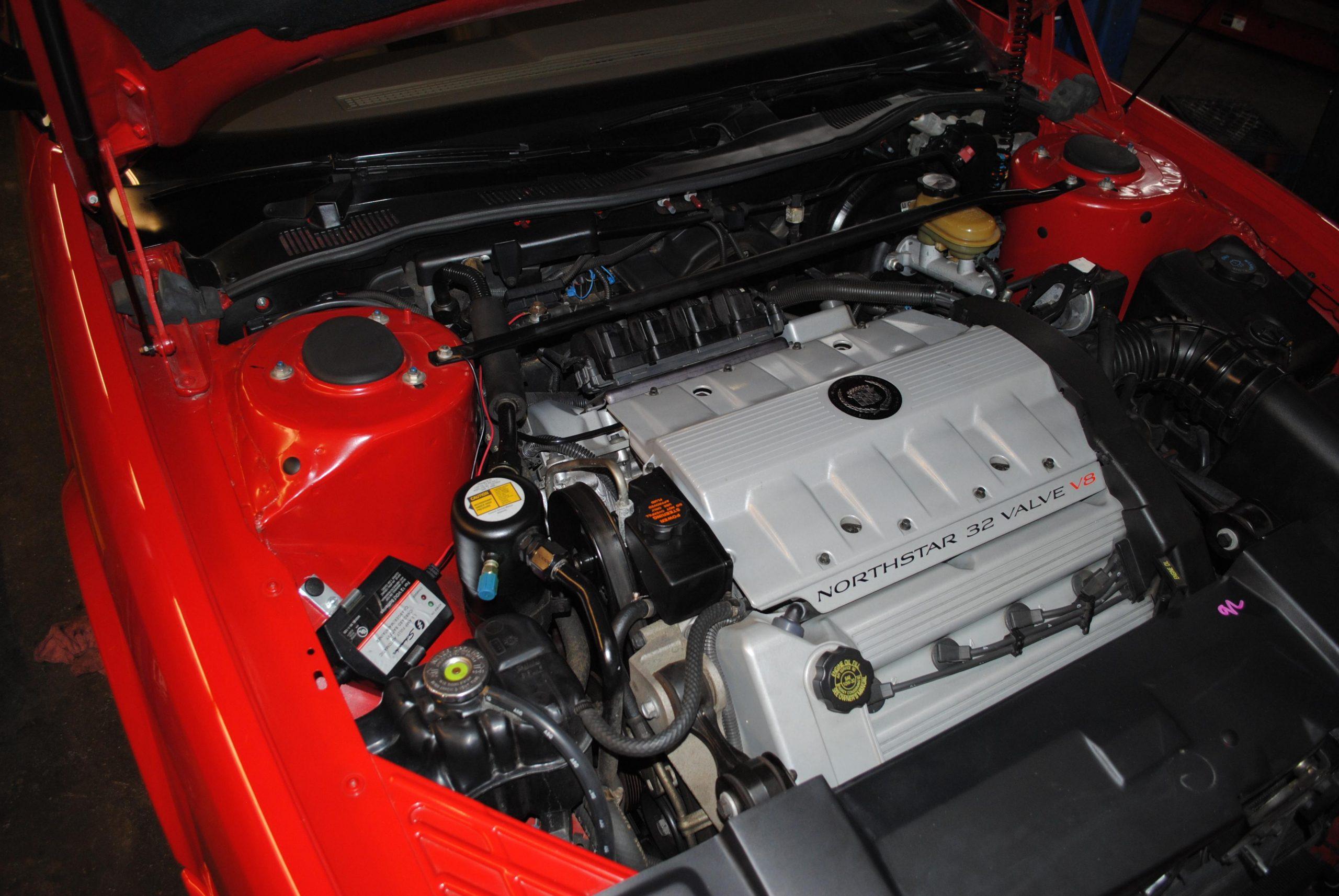 1993 Cadillac Allante engine