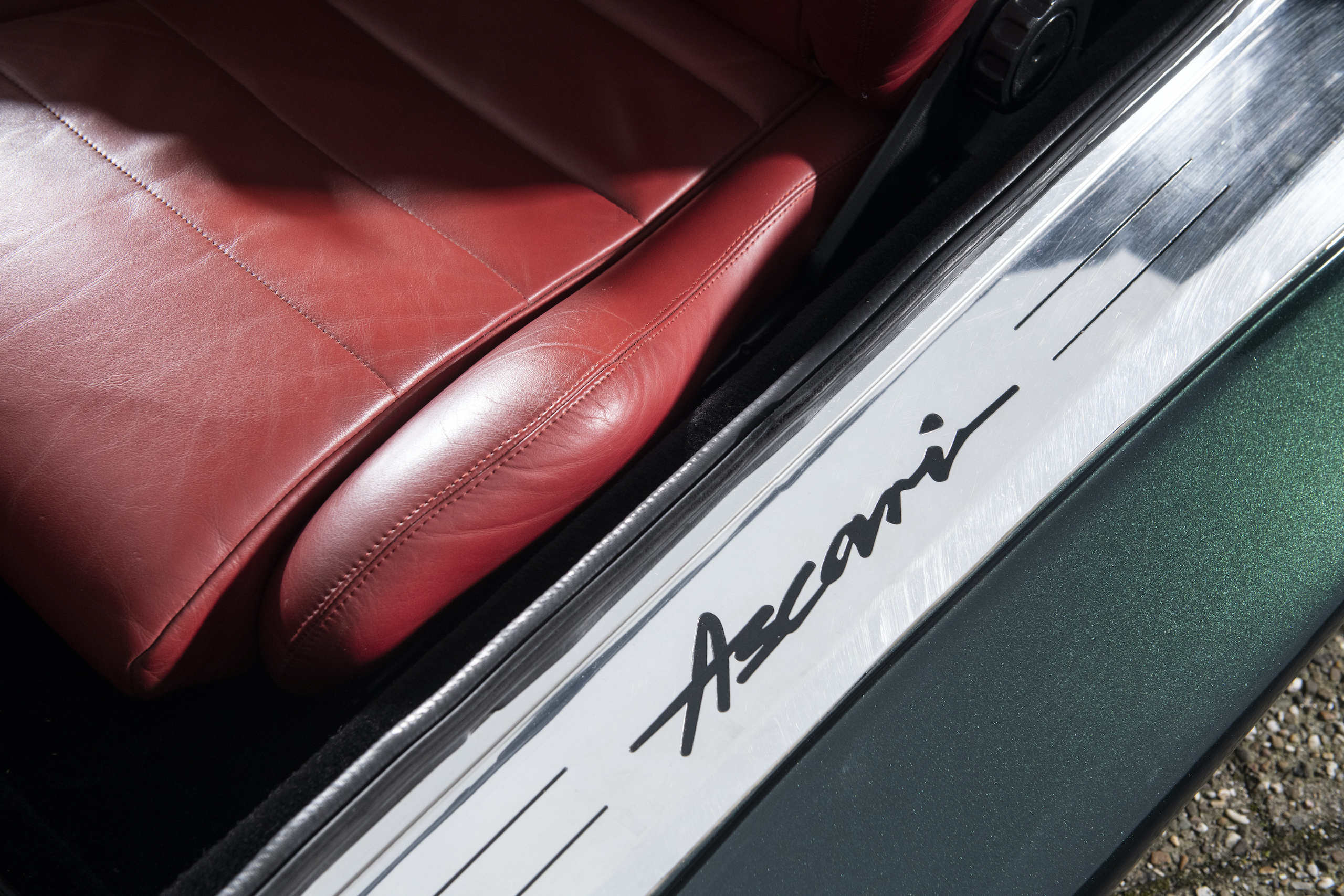 1997 Ascari Ecosse door sill detail