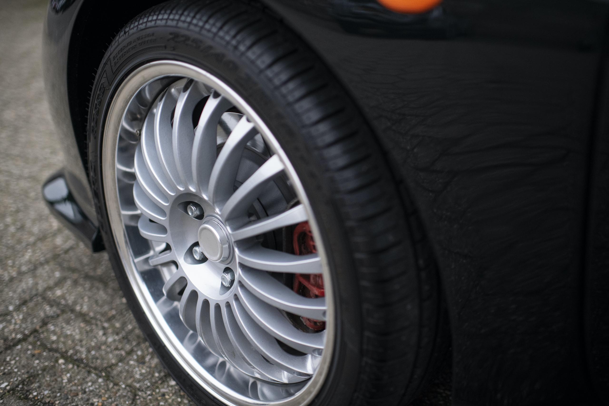1997 Ascari Ecosse wheel detail