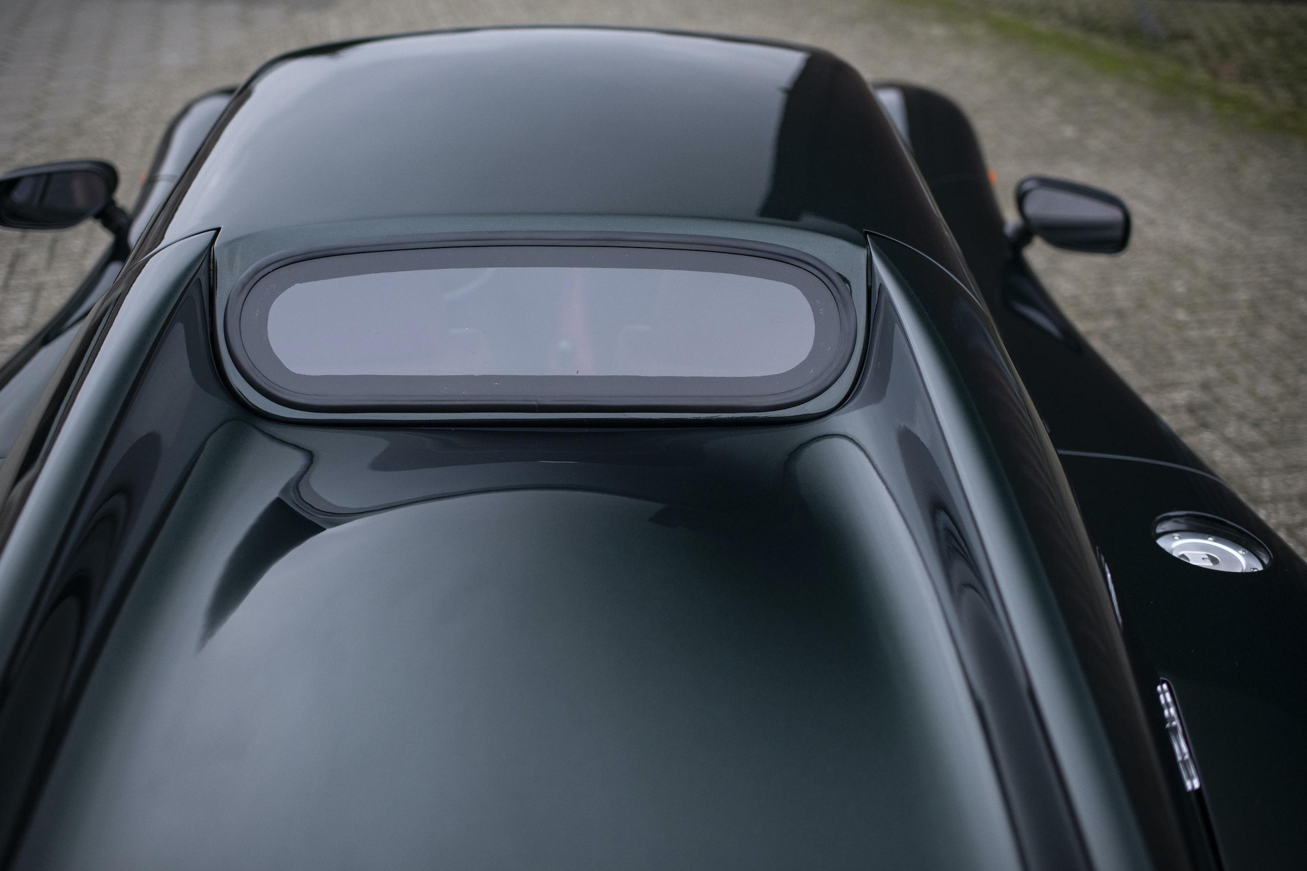 1997 Ascari Ecosse rear window