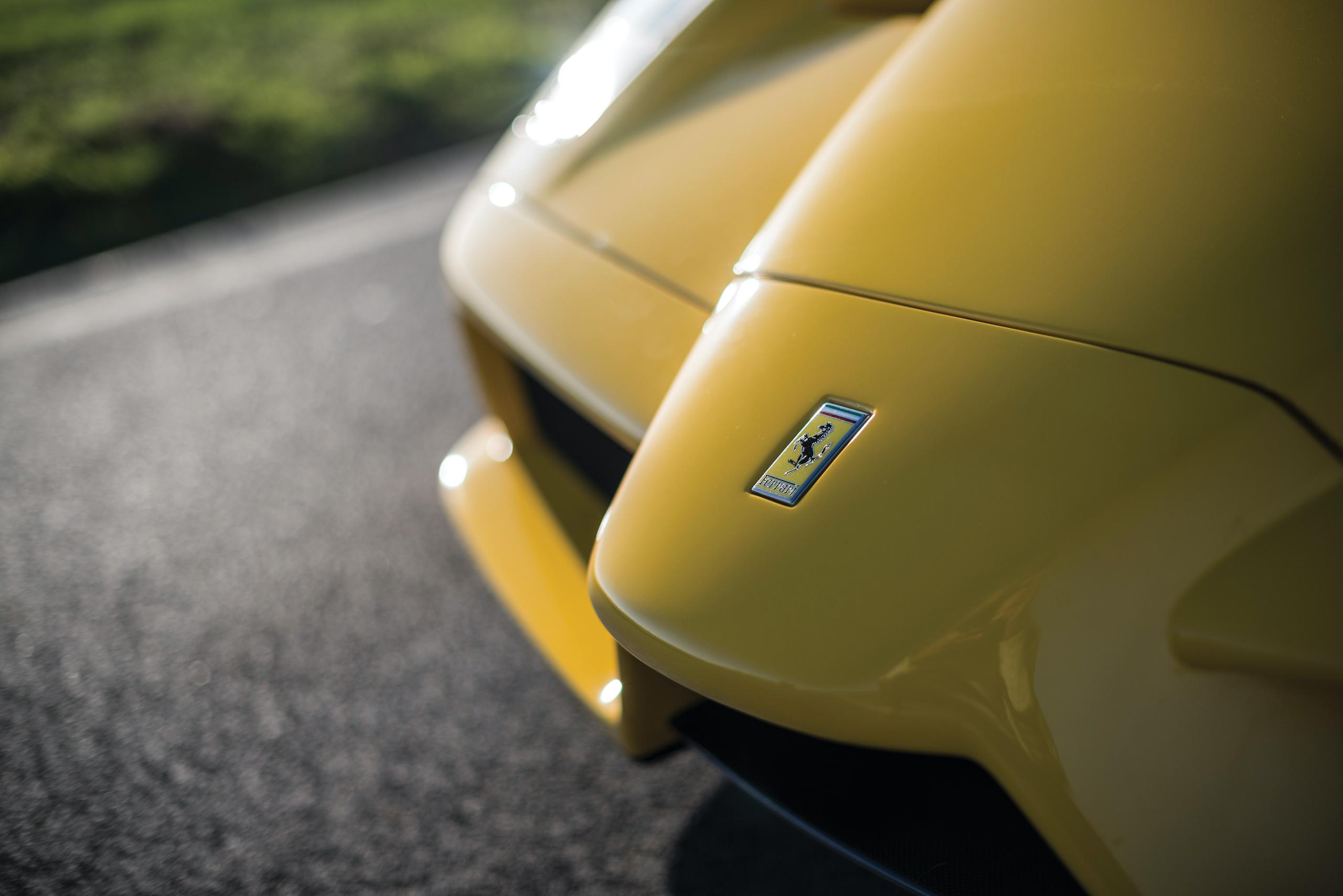 2002 Ferrari Enzo nose detail