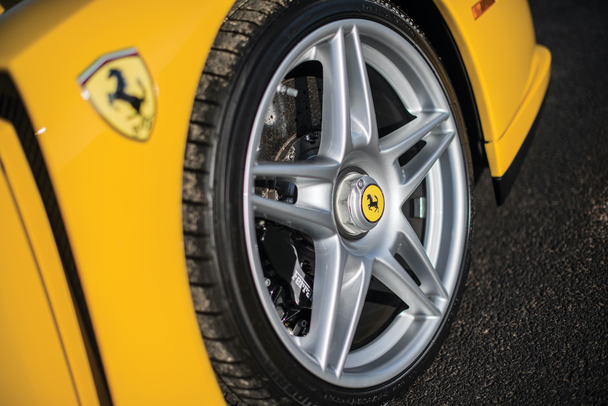 2002 Ferrari Enzo wheel detail