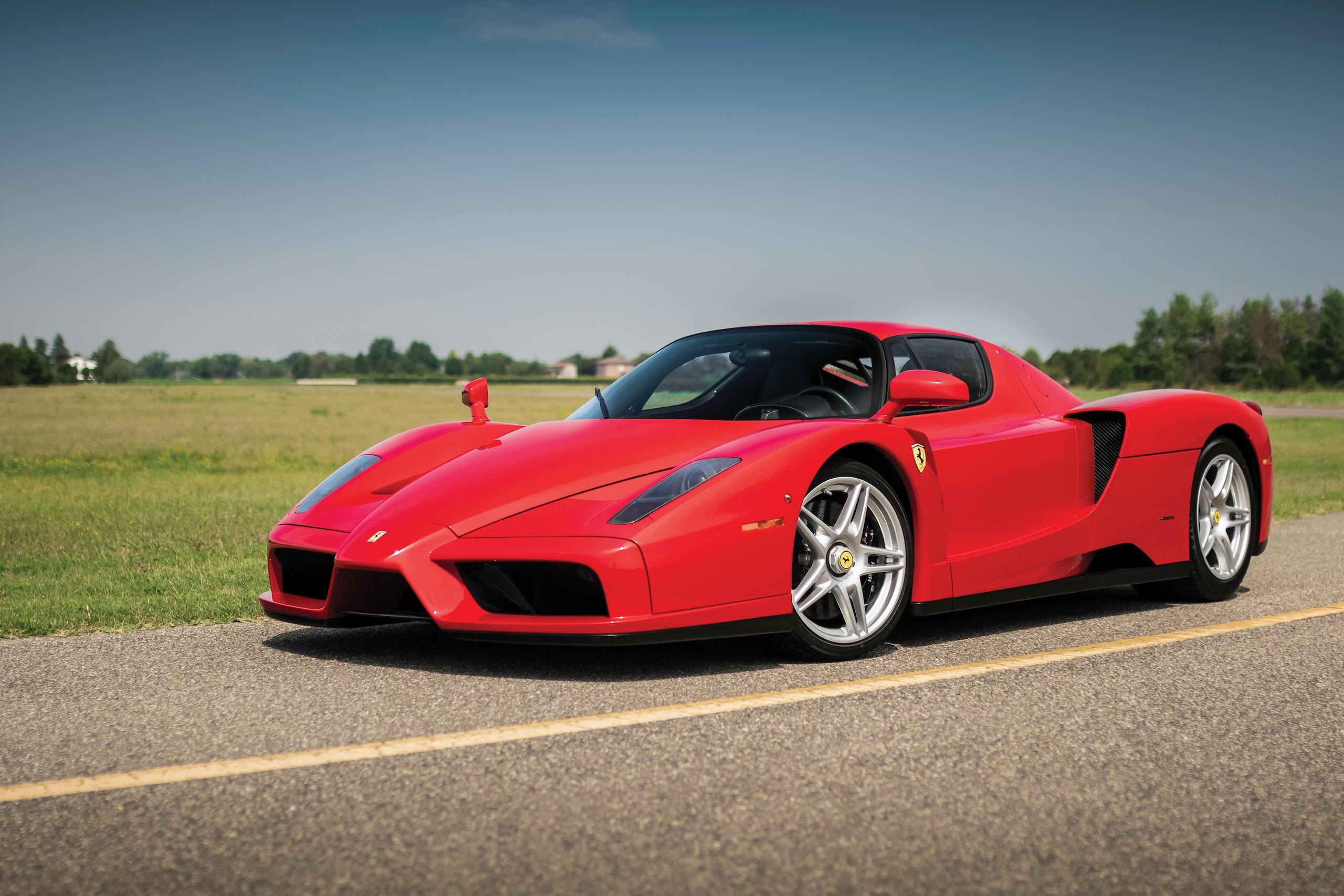 2003 Ferrari Enzo front three-quarter