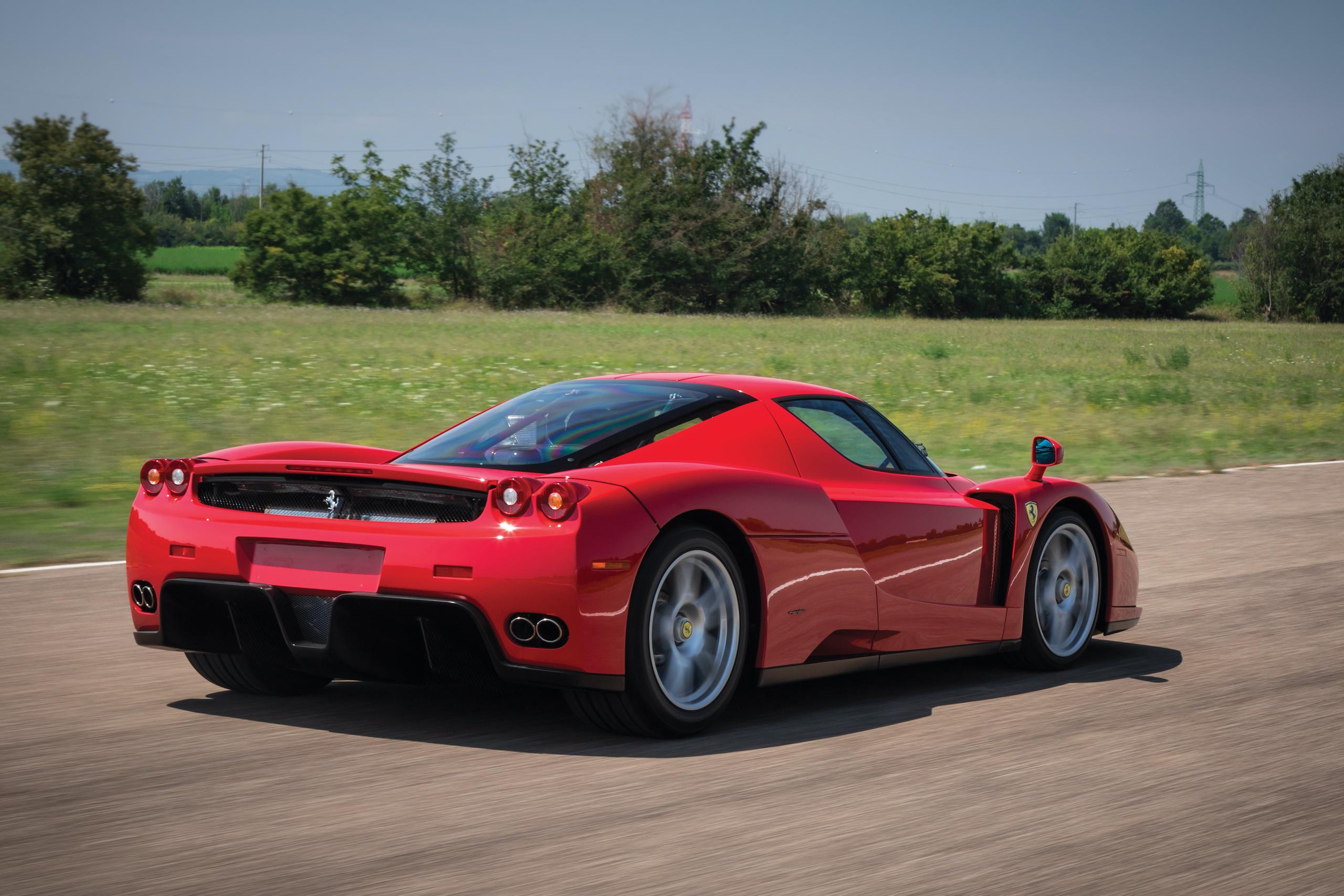 2003 Ferrari Enzo rear three-quarter action