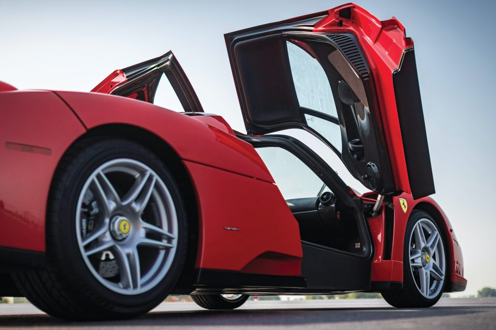 2003 Ferrari Enzo doors up