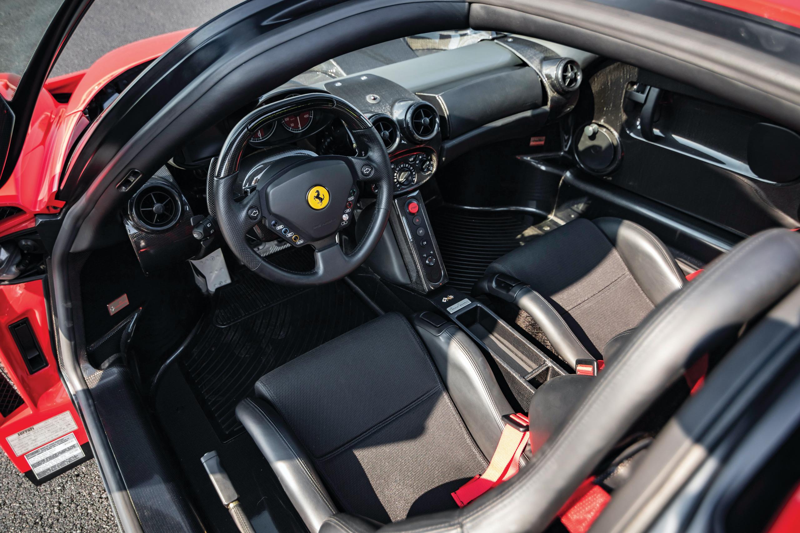 2003 Ferrari Enzo interior