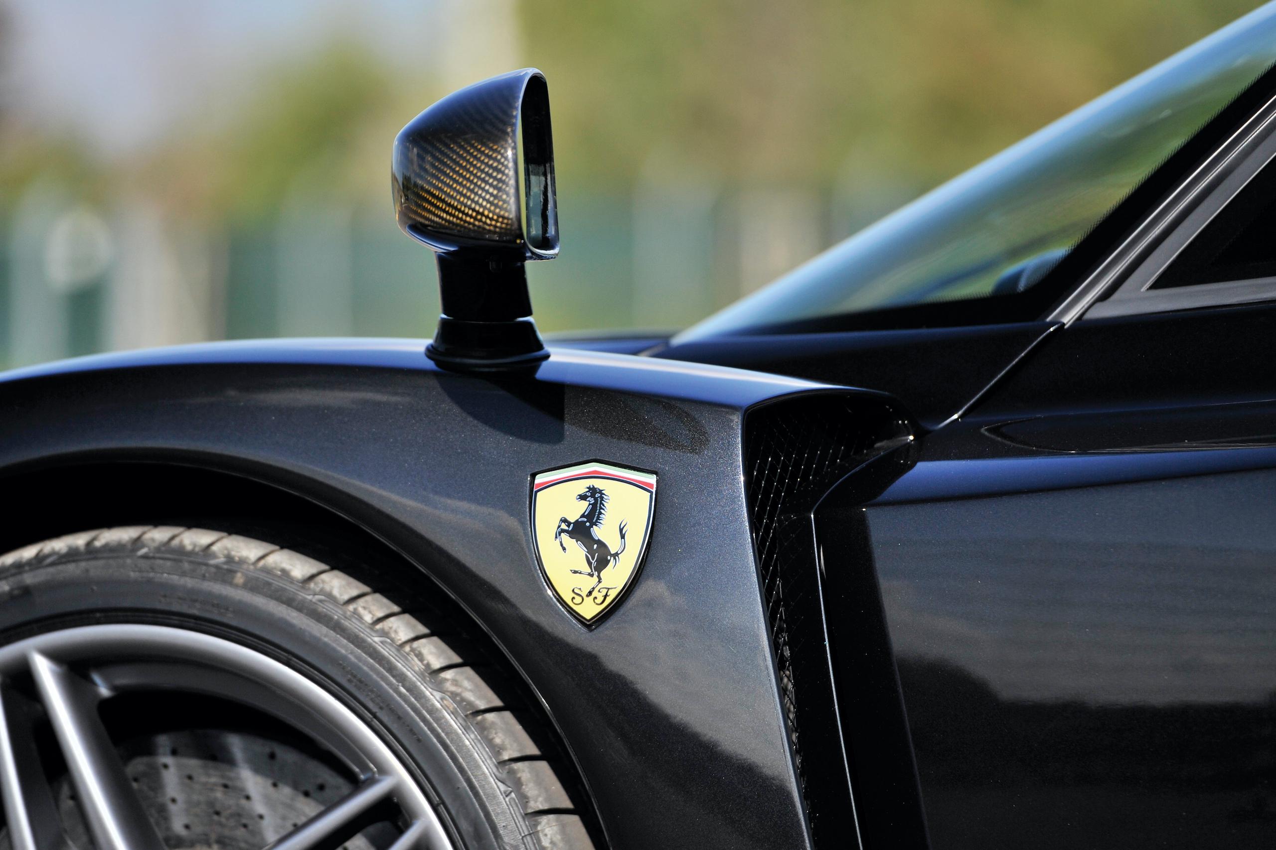2004 Ferrari Enzo quarter panel badge